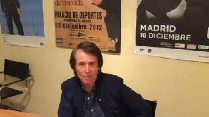 Raphael apoya el 5º Festival Quiero Vivir para impulsar la donación de organos en Perú