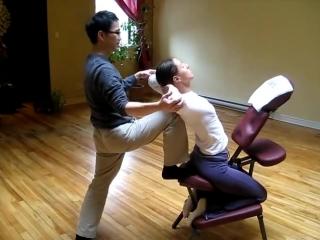 Thai chair massage 2