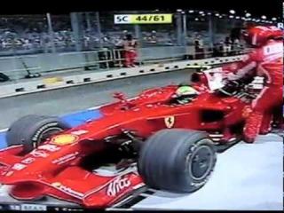 F1 - Sucuri gigante no GP de Singapura 2008