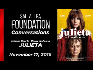 Conversations with Adriana Ugarte and Rossy de Palma of JULIETA
