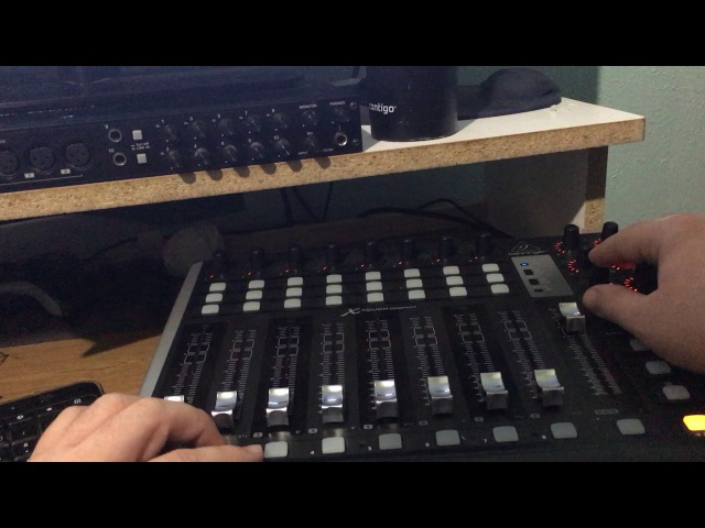 Demonstration of Absynth 5 and Guitar Rig 5 accessible in Sonar X3 using NVDA