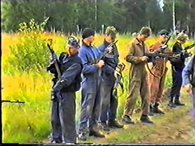 Тренировка СОБР тактические учения