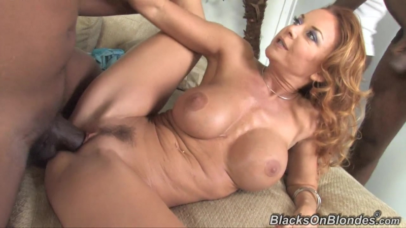 Blacks On Blondes Janet Mason ( Janet Mason Gangbang) Interracial, IR, Gangbang, Cougar, Milf, Crampie,