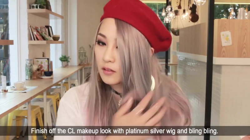ENG 2NE1 씨엘 메이크업 CL inspired makeup tut SSIN