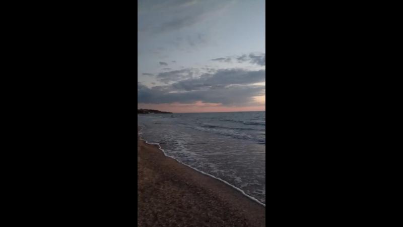 ммм море вечером