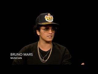 Bruno Mars on Charlie Rose - 10/09/2017