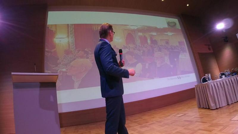 Открытие 4 Научной конференции Асоциации Флебологов Балтии и 32 Международной конференции Проф Варади по флебологии лимфолог