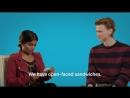 Линнеа и Хенрик в интервью для Netflix Nordic Дания или Норвегия?