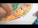 Вышивка Бэкстич в две и одну нить Как сделать чтобы было красиво