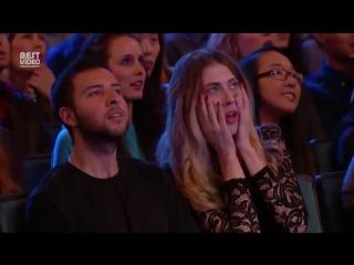 Гимнасты держали зрителей в страхе всё выступление!