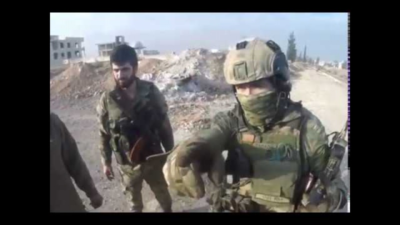 Когда мы были на войне Спецназ в Сирии