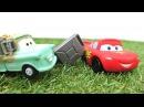 Metr McQueen'a 🏎️ yardım ediyor ve yakıt getiriyor çizgifilmoyuncakları oyuncakarabayarışı