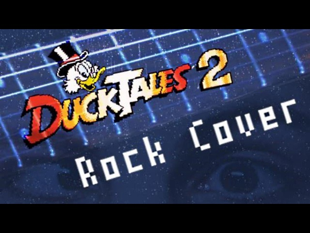 Ducktales 2 NES Rock Cover by GNOM