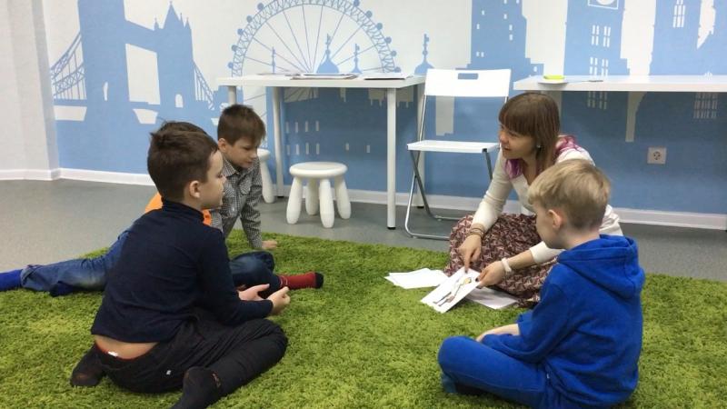 Методика I Love English, курс I Can Read, урок 4-3 часть 2 г.Новосибирск, школа LESKids
