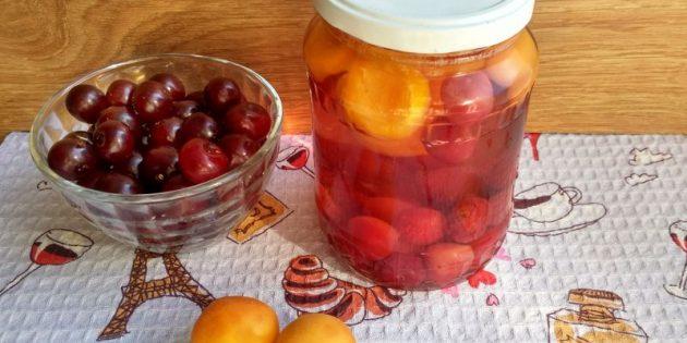 Как сварить компот из абрикосов и заготовить его на зиму, изображение №2