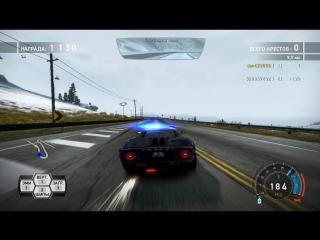 NFSHP Погоня на GTR за плохим гонщиком