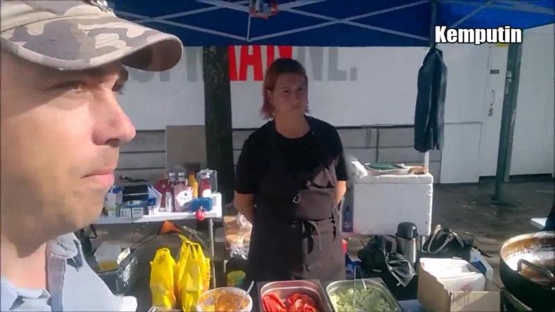 Burgerilla maidanilla 20 08 2017 Näinä päivinä alkoi vastapuolen leiri hyytyä Suomi voitti