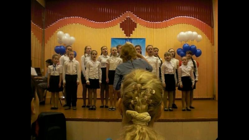 Песня Учителя. Луковецкая СШ. 13.12.17.