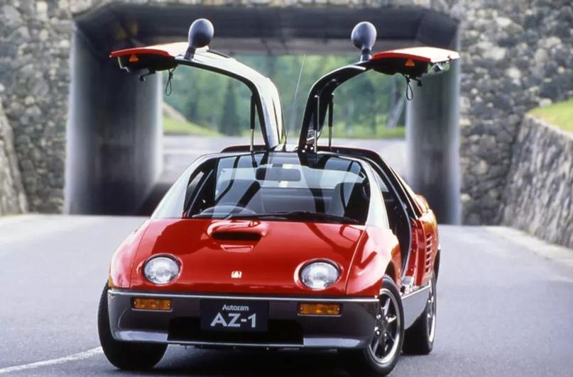 700 килограммов ярости редкого спорткара Autozam AZ-1, который и Suzuki, и Mazda., изображение №11