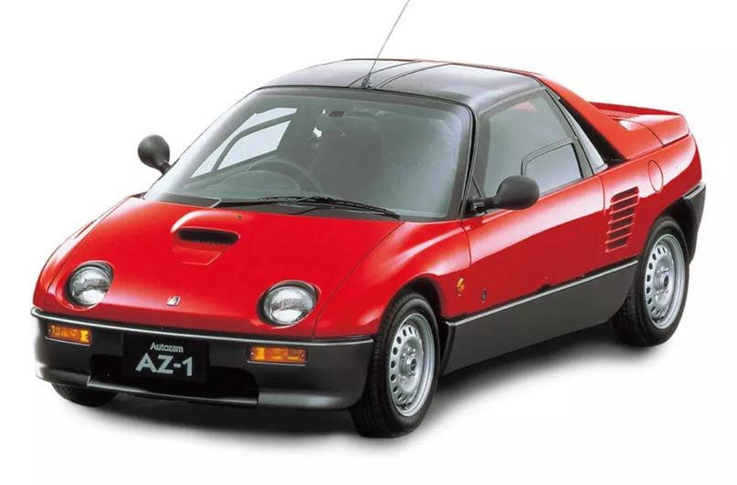 700 килограммов ярости редкого спорткара Autozam AZ-1, который и Suzuki, и Mazda., изображение №16