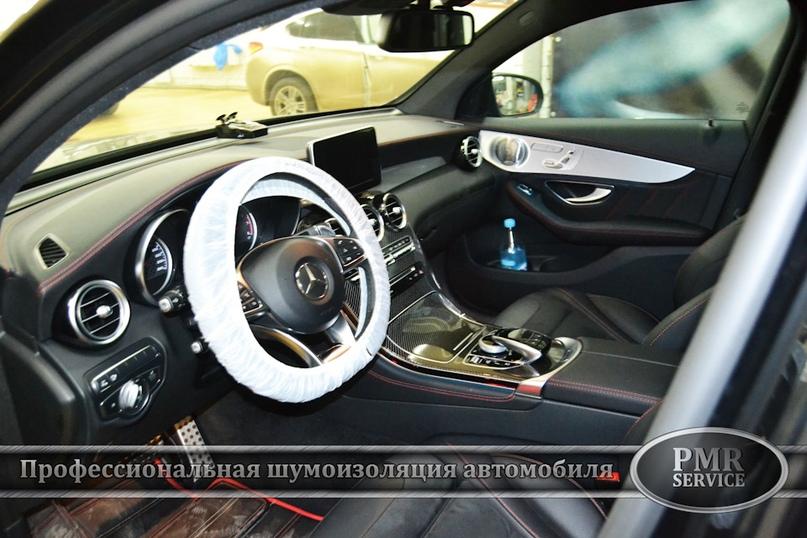 Шумоизоляция Mercedes Benz GLC, изображение №14