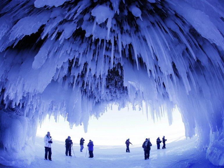 Ледяные пещеры островов Апосл, изображение №3