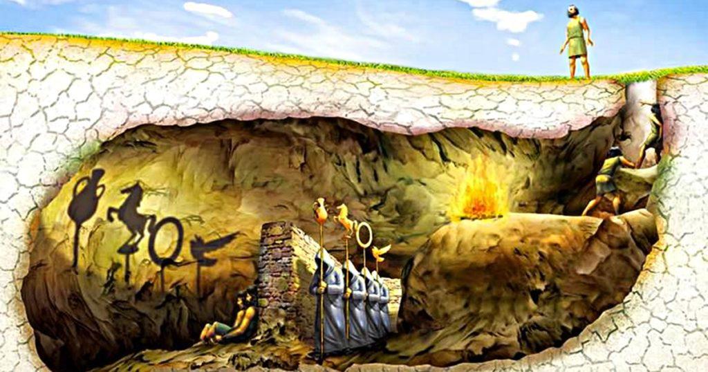 Результат пошуку зображень за запитом платонова печера