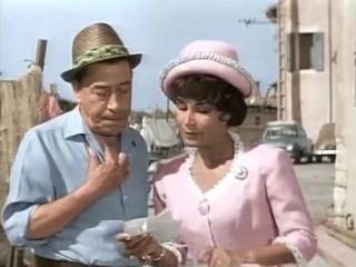 Муж моей жены (Франция, 1963) комедия, Фернандель и Бурвиль, цветная версия