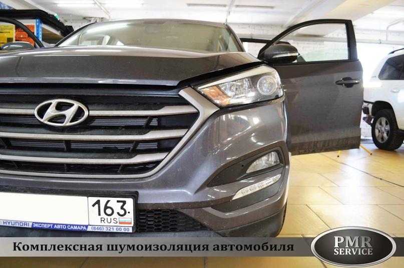 Шумоизоляция Hyundai Tucson, изображение №2