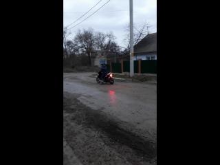 Drifting scuter 125 кубов