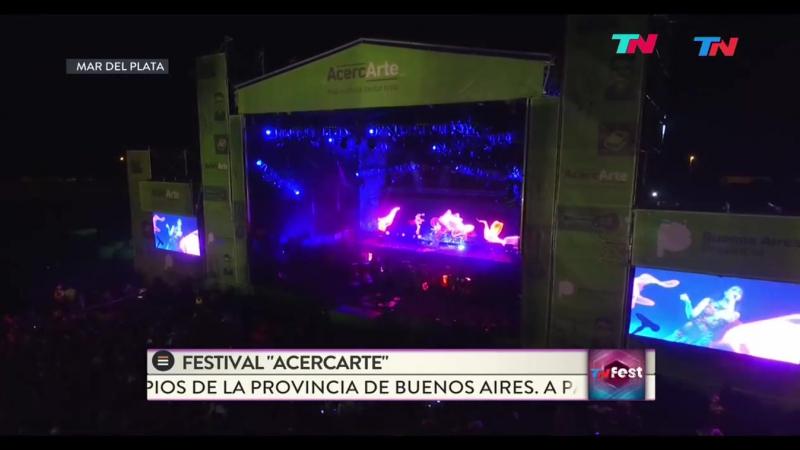 Natalia Oreiro Se Me Ha Perdido un Corazón Festival AcercArte Mar del Plata 2017
