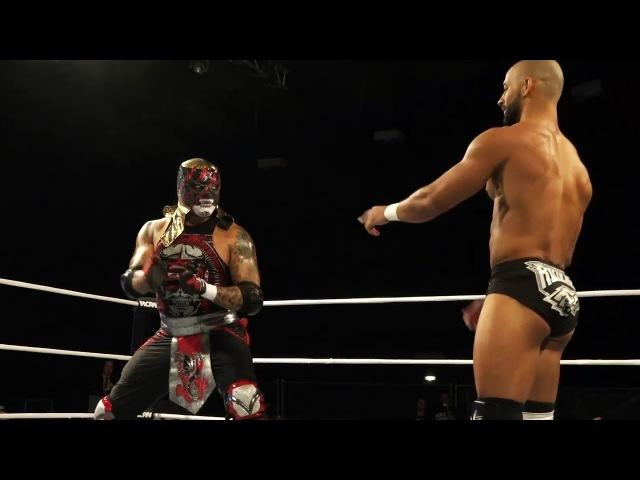 Ricochet vs Penta El Zero M Pro Wrestling World Cup Quarter Finals