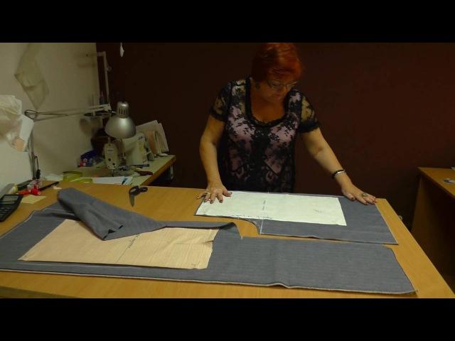 Юбка брюки или кюлоты Выкройка за 5 минут Как сшить брюки своими руками