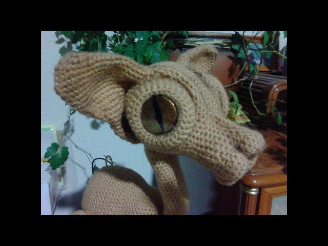 Кот Сфинкс, ч.2. Sphynx Cat, р.2. Amigurumi. Crochet.