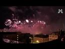 Rīgas svētku uguņošana 30 sekundēs Салют праздника Риги за 30 секунд