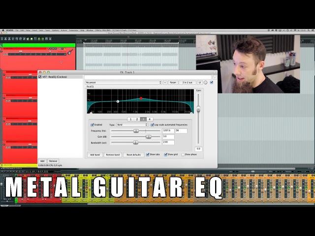 How I EQ Metal Guitars