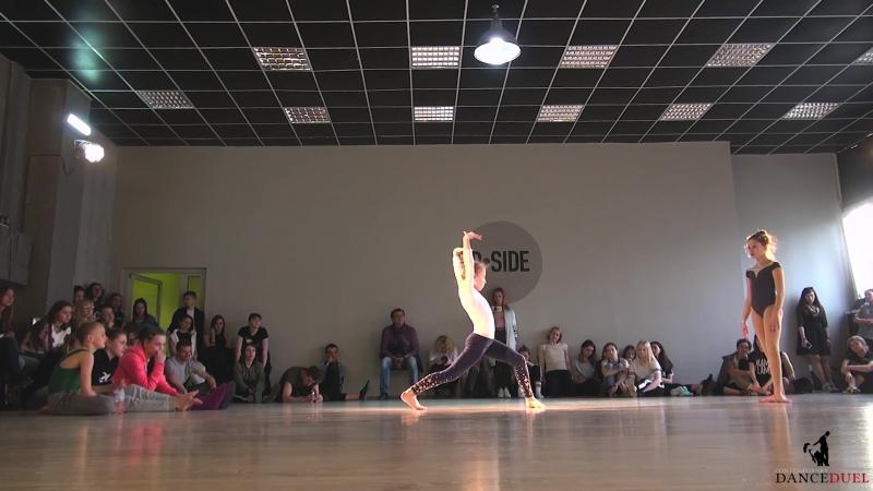 CONTEMPORARY DANCE DUEL FINAL 1х1 KIDS PRO Глуган Ангелина Кравец Мария