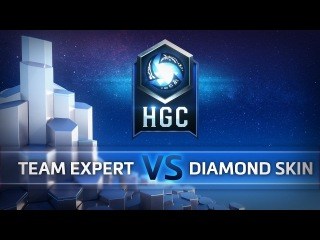HGC EU 2017 - Фаза 1: Team Expert vs Diamond Skin