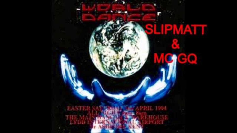 Slipmatt Mc GQ @ World Dance @ Lydd Airport 2nd April 1994