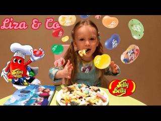 Конфеты ДЖЕЛЛИ БЕЛЛИ Jelly Belly 20 вкусов и желейные конфеты Открываем пробуем