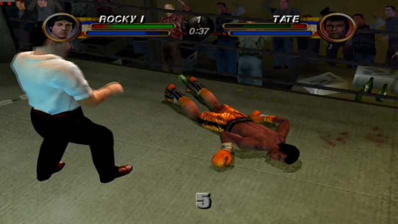 PS2 ROCKY pcsx 2 1 5 0 DX 11 Fps 50 HD 720 p