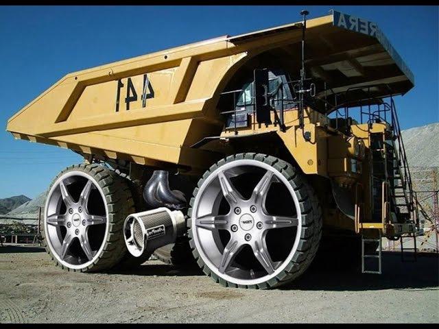 Суперсооружения. Супер грузовики. Гигантские грузовые автомобили. Документальный фильм 08.08.2016