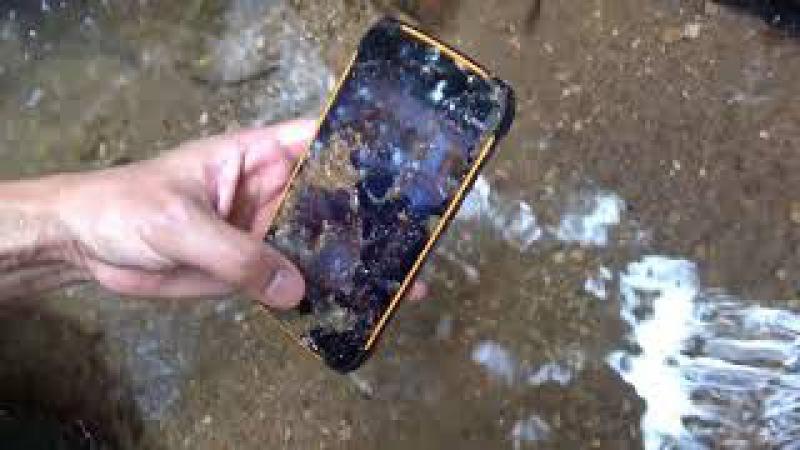 IP68 Smartphone UHANS K5000 Outdoor Test