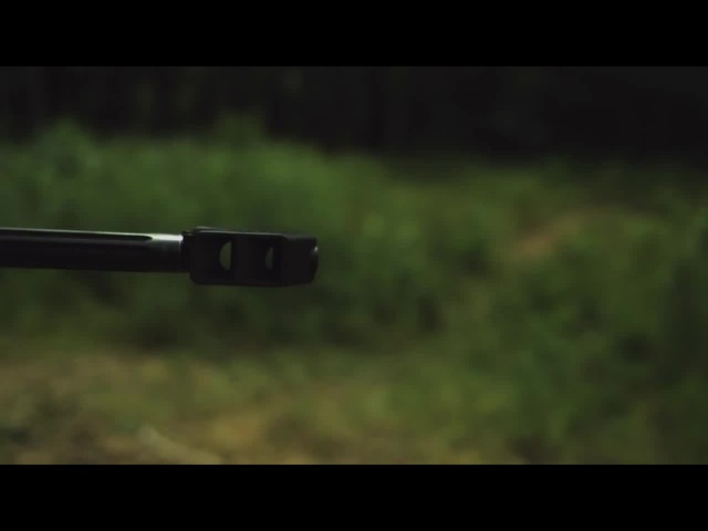Barrett M107A1 .50 Cal Sniper Rifle in Slow Motion