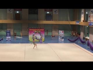 Анастасия Валентирова Булавы - Летняя феерия 2017