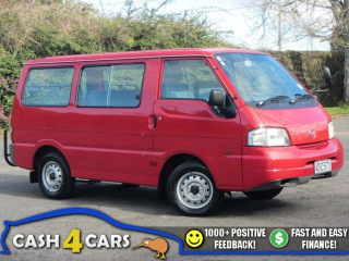 2001 Mazda E2000 SWB NZ New Van Low Km's  ** Cash4Cars **  ** SOLD **