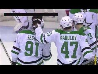 Tyler Seguin pots Radulov's great pass vs Capitals (2018)
