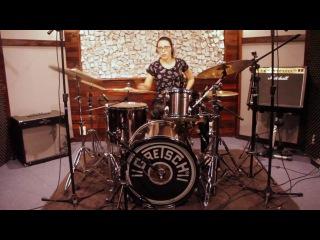 Ana Luiza - Jake Hamilton - The Great I Am (Drum Cover)