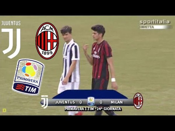 Juventus 0 0 AC Milan Ampia Sintesi Primavera 31 03 2018