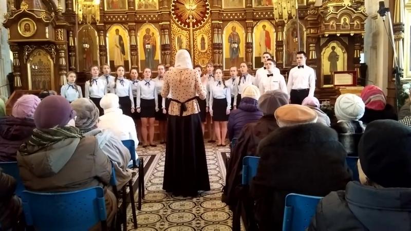 Коложский Благовест 2016 Детский хор воскресной школы Б Берестовица 2 часть Гродно 2016 год